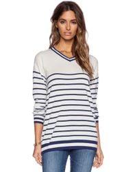 Zoe Karssen Stripes All Over Sweater - Lyst