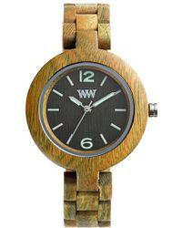 WeWood - 'mimosa' Wood Bracelet Watch - Lyst