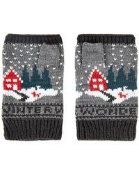 Topshop Winter Wonderland Handwarmer - Lyst