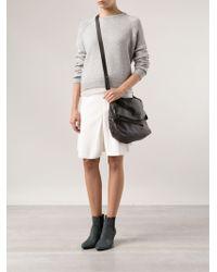 Brunello Cucinelli - Foldover Messenger Bag - Lyst