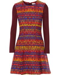 Matthew Williamson Jacquard Mini Dress - Lyst