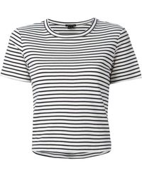 Theory Striped Breton T-Shirt - Lyst