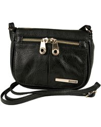 Kenneth Cole Reaction - Wooster Street Faux Leather Small Flap Crossbody Bag - Lyst