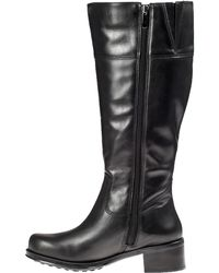 Andre Assous Legendary Ii Riding Boot Black Leather - Lyst