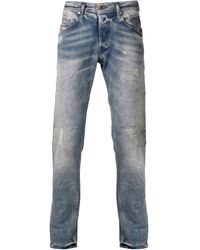 Diesel Faded Wash Jeans - Lyst