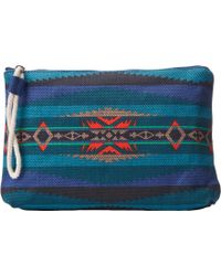 Pendleton Printed Canvas Zip Pouch - Lyst