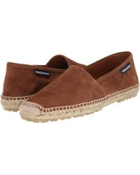 DSquared² Brown Suede Espadrille - Lyst