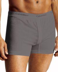 Calvin Klein Slim Fit Knit Cotton Boxers - Lyst