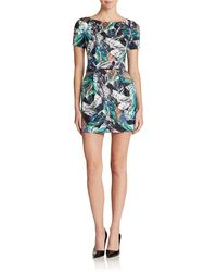 French Connection Patterned A Line Dress - Lyst
