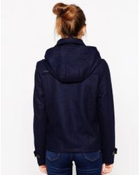 Gsus Sindustries Brach Duffle Jacket - Blue