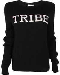 A.L.C. Tribe Crew Sweater black - Lyst
