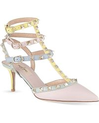 Valentino Watercolour 65 Heeled Sandals - Lyst