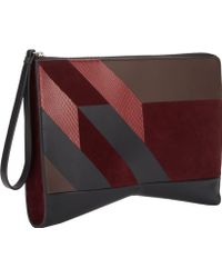 Narciso Rodriguez Multicolor Lygia Clutch - Lyst