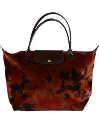 Longchamp Borsa Pliage Fleur De Palace - Lyst