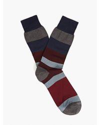 Etiquette Men'S London Stripe Cotton Socks - Lyst