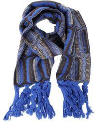 Jamin Puech Oblong Scarf - Blue