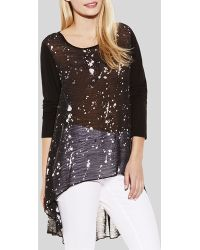 Two By Vince Camuto - Splatter Print Tunic - Lyst
