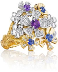 Mimi So - Wonderland Pow Orchid Cluster Ring - Lyst