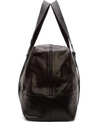 Ann Demeulemeester - Black Leather Large Duffle Bag - Lyst