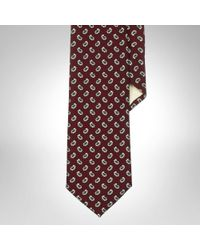 Polo Ralph Lauren Mini Paisley Wool Narrow Tie - Lyst