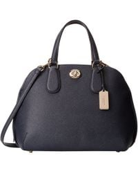 Coach Crossgrain Leather Prince Street Satchel - Lyst