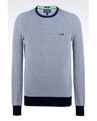 Armani Jeans Crewneck Sweater - Lyst