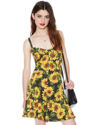 Nasty Gal Sunny Disposition Romper - Lyst