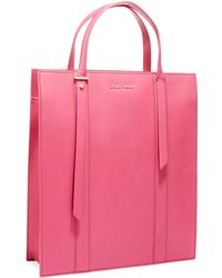Cole Haan Vestry Leather Magazine Tote Bag - Lyst