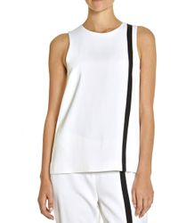 Lisa Perry Offset Tank Top - Lyst