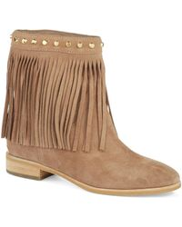 Michael by Michael Kors Khaki Billy Bootie - Lyst