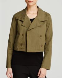 Eileen Fisher - The Fisher Project Double Breasted Cropped Jacket - Lyst