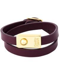 See By Chloé - Double Wrap Bracelet - Lyst