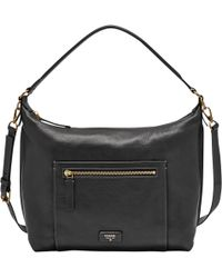 Fossil - Vickery Leather Shoulder Bag - Lyst