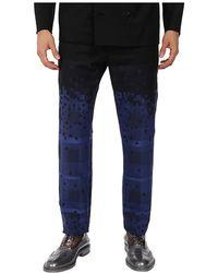 Vivienne Westwood Man Tartans & Diamonds Trouser - Lyst