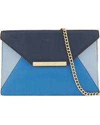 MICHAEL Michael Kors Lana Envelope Clutch Bag - For Women - Lyst
