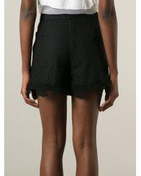 Erdem 'Tyra' Shorts - Black