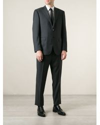 Canali Gray Classic Suit - Lyst