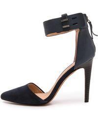 Joe's Jeans - Arnie Ankle Strap Court Shoes  Tan - Lyst