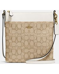 COACH | North/south Swingpack In Signature Fabric | Lyst
