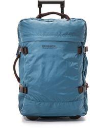 Bensimon Rolling Suitcase - Blue
