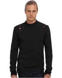 Diesel Black Kamala Sweater - Lyst