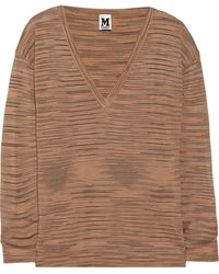 M Missoni Knitted Sweater - Lyst