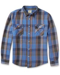 Levi's Shorthorn Checked Cotton Shirt - Lyst