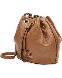 Marc By Marc Jacobs Leather Drawstring Shoulder Bag - Lyst