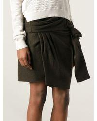 Isabel Marant Wrap Style Skirt - Lyst