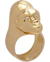 Jennifer Fisher - Brass Small Gorilla Ring - Lyst