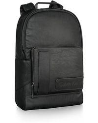 Calvin Klein White Label Gibson Backpack black - Lyst