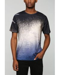 Vanishing Elephant Digital Wave Tee - Lyst