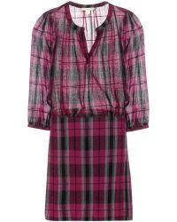 Burberry Brit Shay Crepe Dress - Lyst