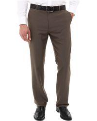 Perry Ellis Tonal Textured Dress Pant - Lyst